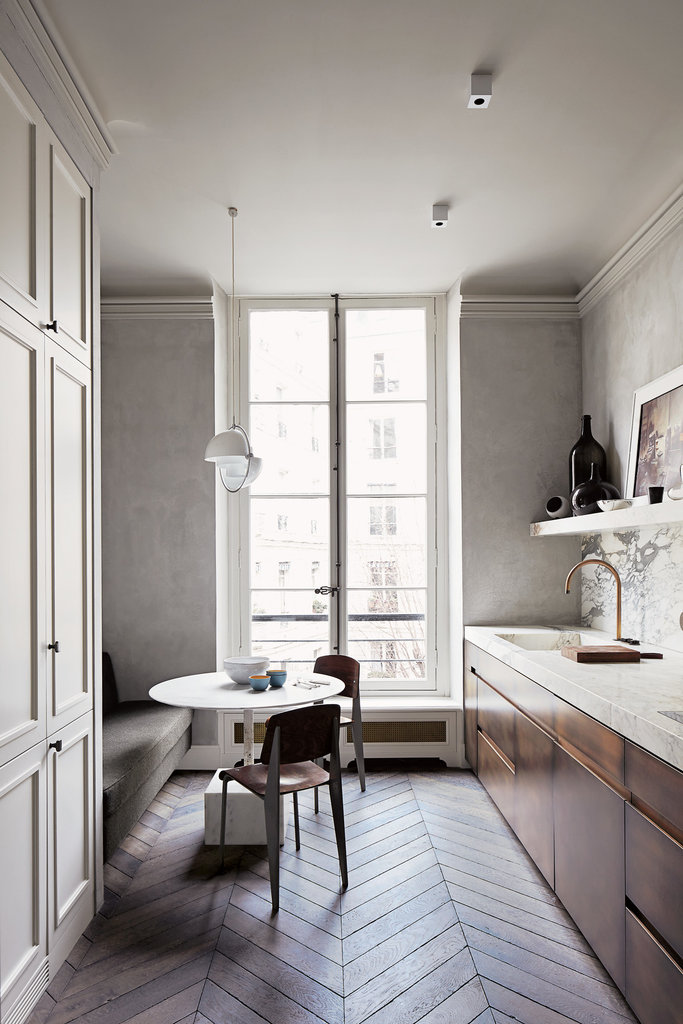 Interior Design | A Paris Apartment | Dust Jacket | Bloglovin\'