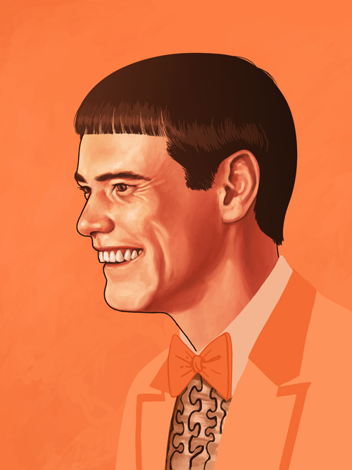 Illustrated Portraits of Pop Culture Heroes