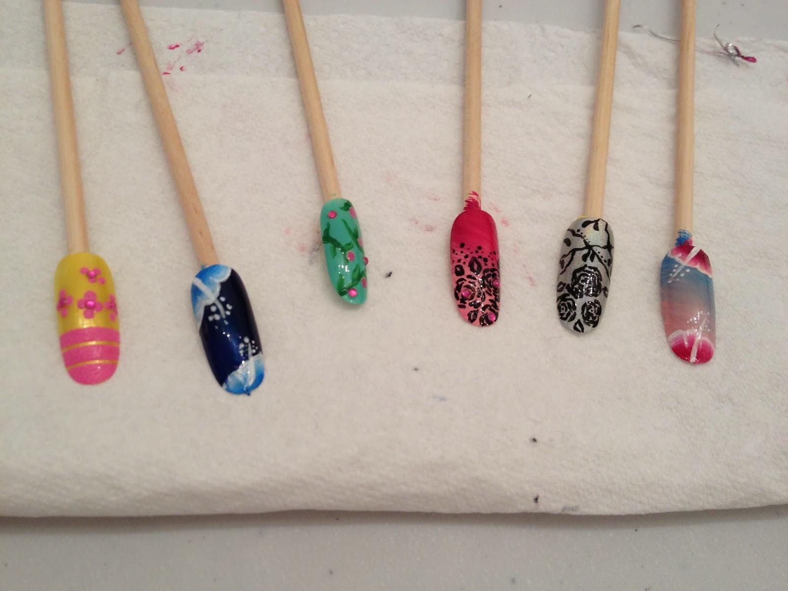 Ateliers nail art Décembre et Janvier24