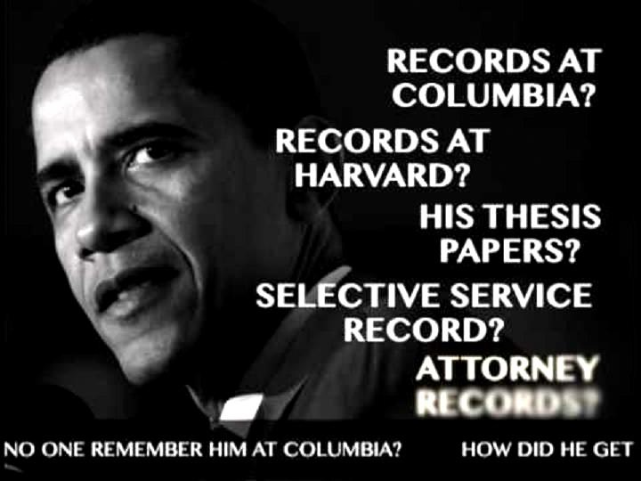 obama college transcripts and thesis Barack hussein obamathere were plenty of indications back then that he wasn't who he said he wasan american citizen old book jackets said he was born in kenya the kenyan government said he was born in kenya there were no college records we were allowed to seeno thesis we were.