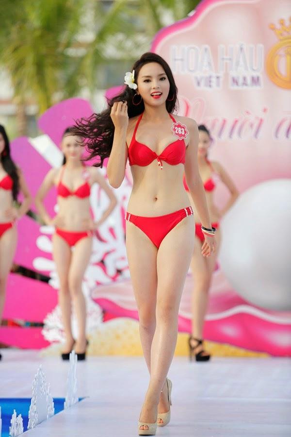 Hình ảnh Khoảnh khắc ấn tượng của Hoa hậu Kỳ Duyên