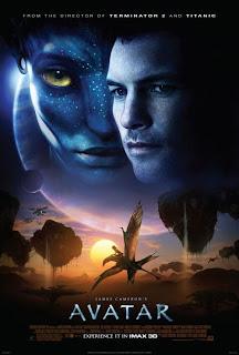 Cartel oficial de la película Avatar