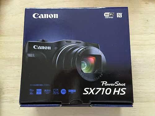 キャノンPower Shot SX710HS