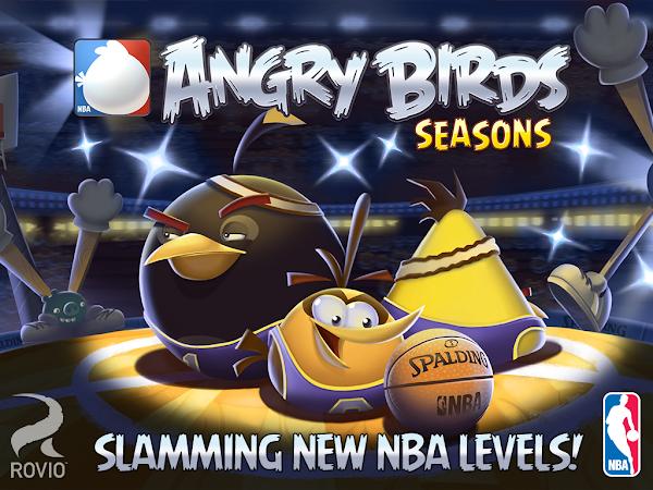 Angry Birds Seasons - NBA Episode - banner