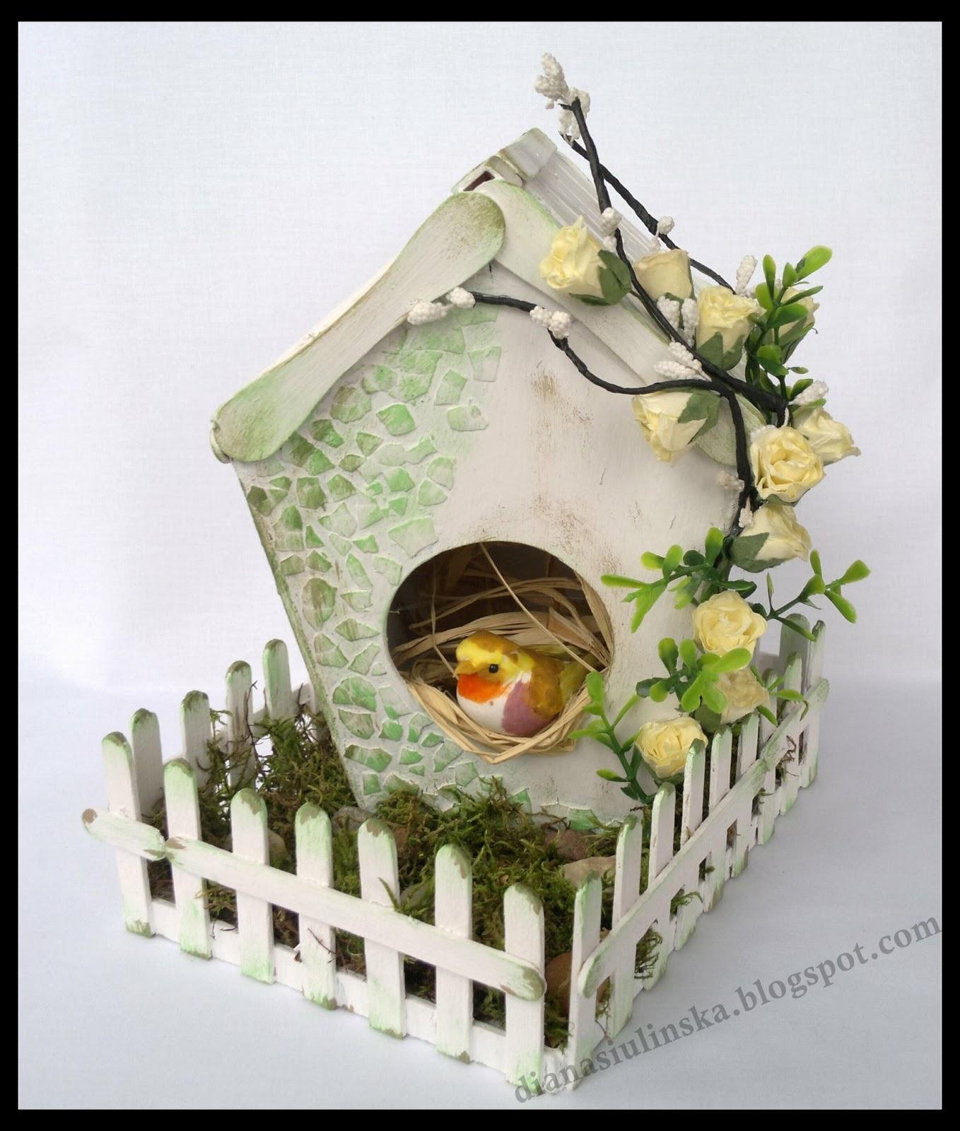 Как сделать птичку дома