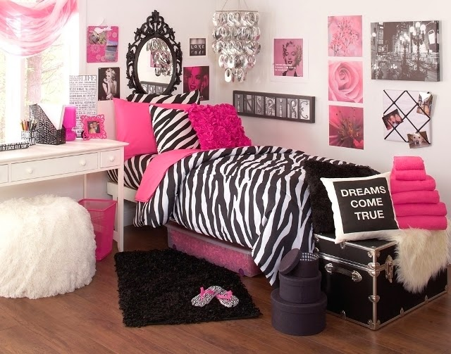 zebra print bedroom wall paint ideas