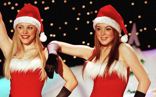 Lindsay Lohan traje Santa Claus en Navidad | Ximinia