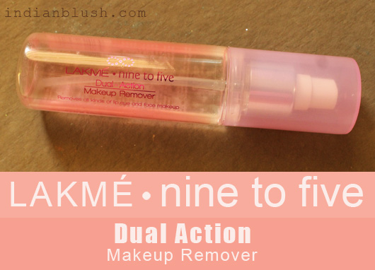LAKMÉ Nine to Five Dual Action Makeup Remover Review
