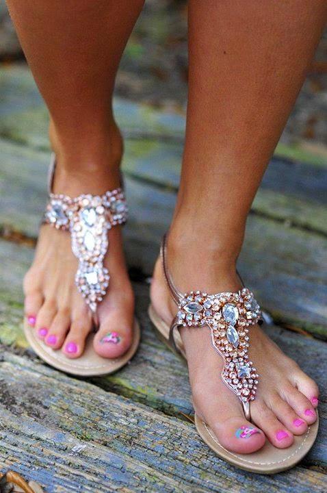 Flat Sandals Designs #3