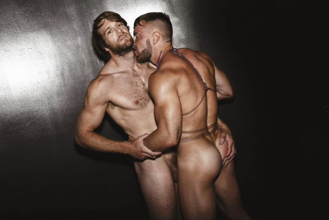Enjoying Nakedness Will Wikle And Colby Keller