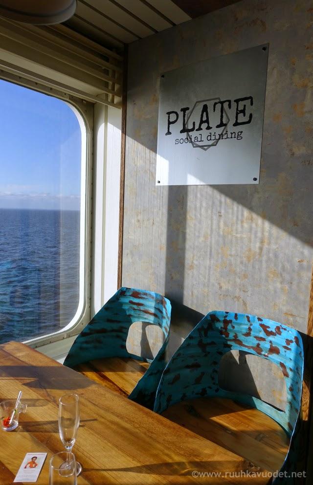 Viking Mariellan Plate-ravinolassa on hauska, teollisuushenkinen sisustus / Uraäidin Ruuhkavuodet