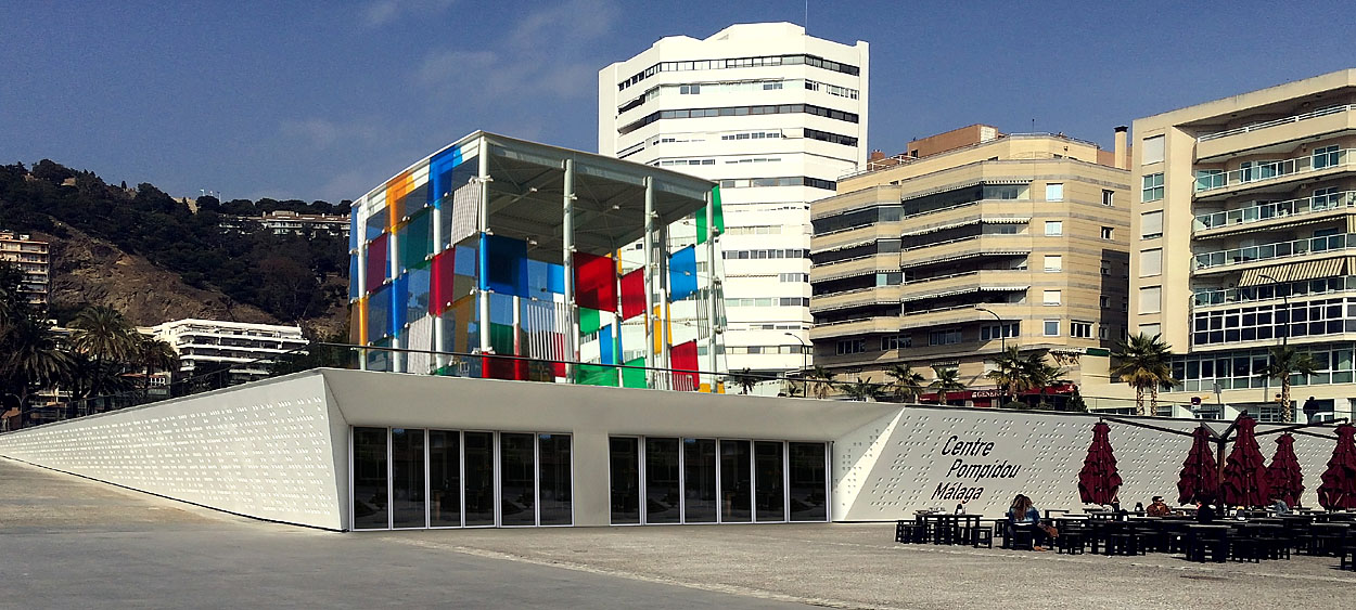 POMPIDOU  CENTER  IN  MALAGA