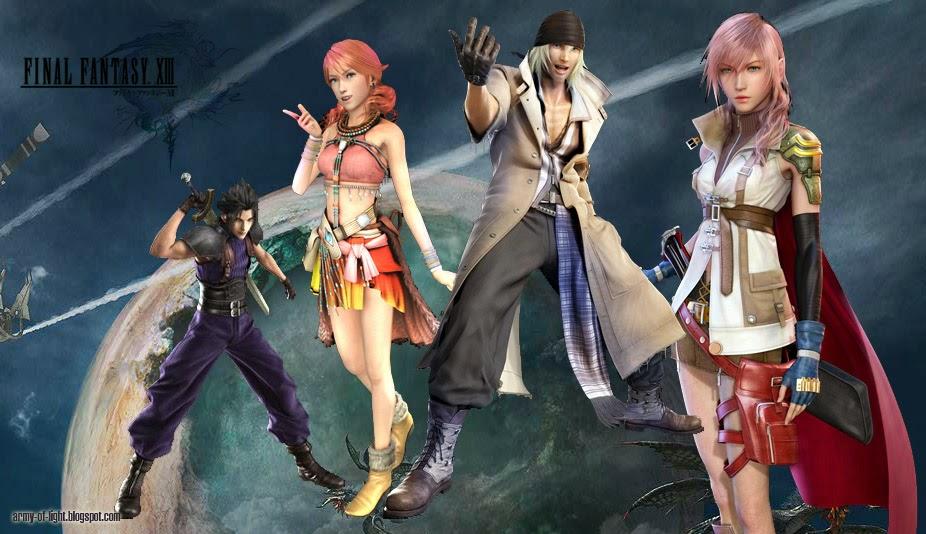 Final Fantasy Xiii Characters Final Fantasy 13 Chara...