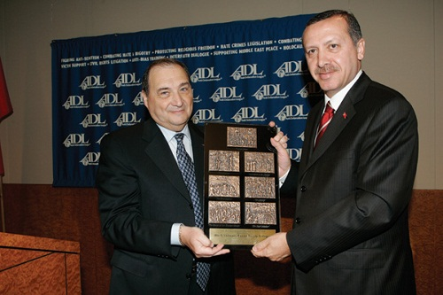 Foxman of ADL with Erdogan