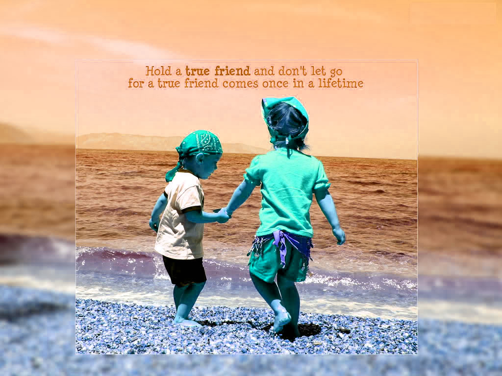 gobetan menyok: true friends wallpaper