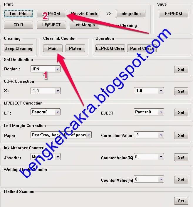 Cara Mudah Reset Printer Canon iP 2770 / 2772