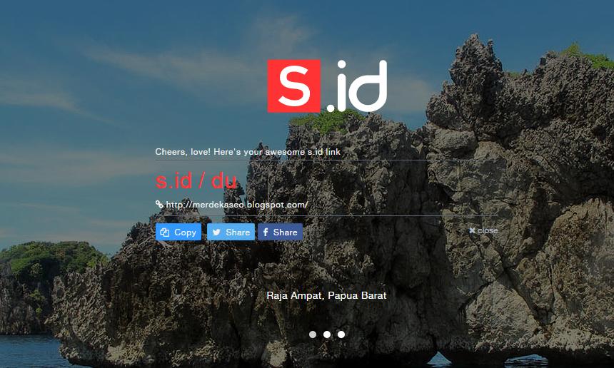Pandi Luncurkan URL Shortener s.ID
