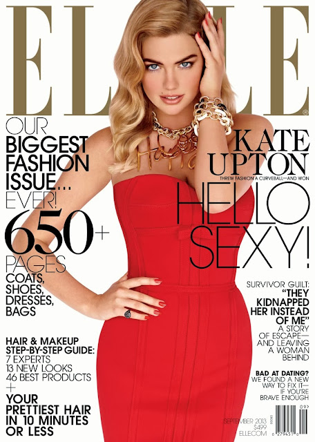 Kate Upton su Elle Usa in Lanvin.
