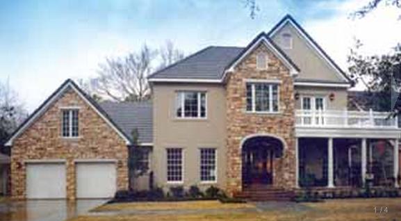 Fachadas casas modernas casas con fachada de piedra for Fachadas de casas modernas con piedra