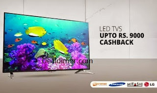 Televisions upto 47% off