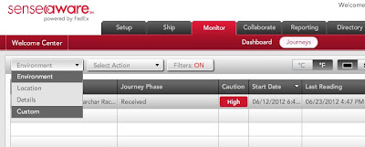 FedEx, Movement Tracking, RAAM, CycleWorks