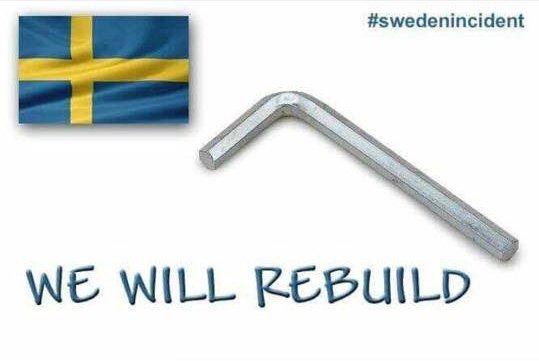 #SwedenIncident