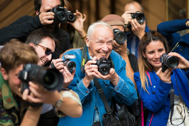 mitograph Bill Cunningham Before Balmain Paris Fashion Week 2014 Spring Summer PFW Street Style Shimpei Mito