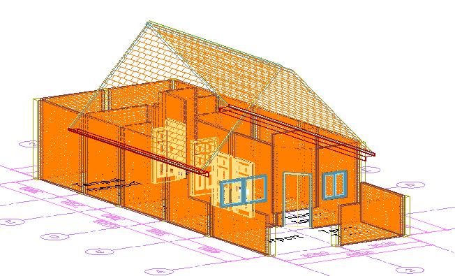 Cara Merancang Rumah Dengan AutoCAD Architecture ( bag 2 )