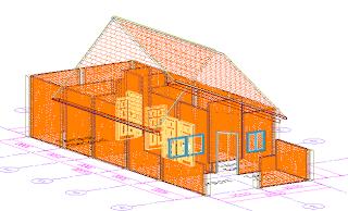 Merancang Rumah Dengan AutoCAD Architecture (bag 3)