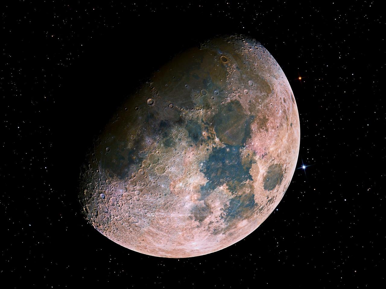 Moon Mosaic || Noel Carboni via NASA || Allegory of Vanity