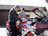 Samochody motory nie są tylko pasją synów, ale i męża