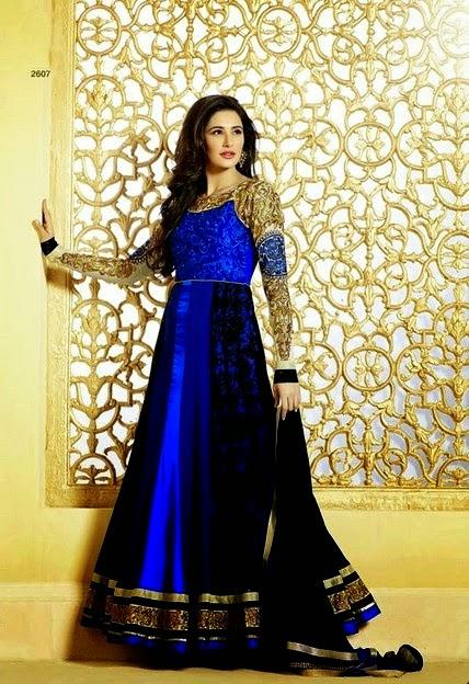 Nargis Fakhri in Anarkali Dresses Collection