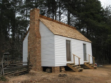Us Slave South Carolina Slave Cabin Rescued And Restored