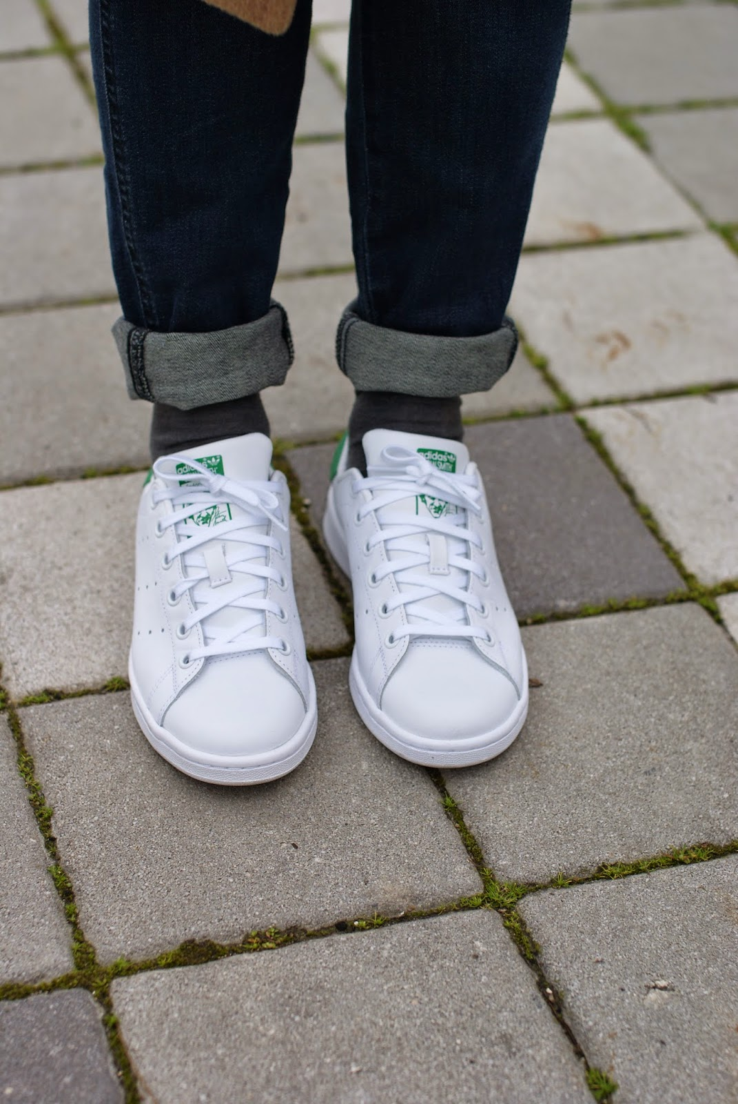 Adidas Stan Smith, Adidas Originals white green sneakers on Fashion and Cookies fashion blog, fashion blogger italiana