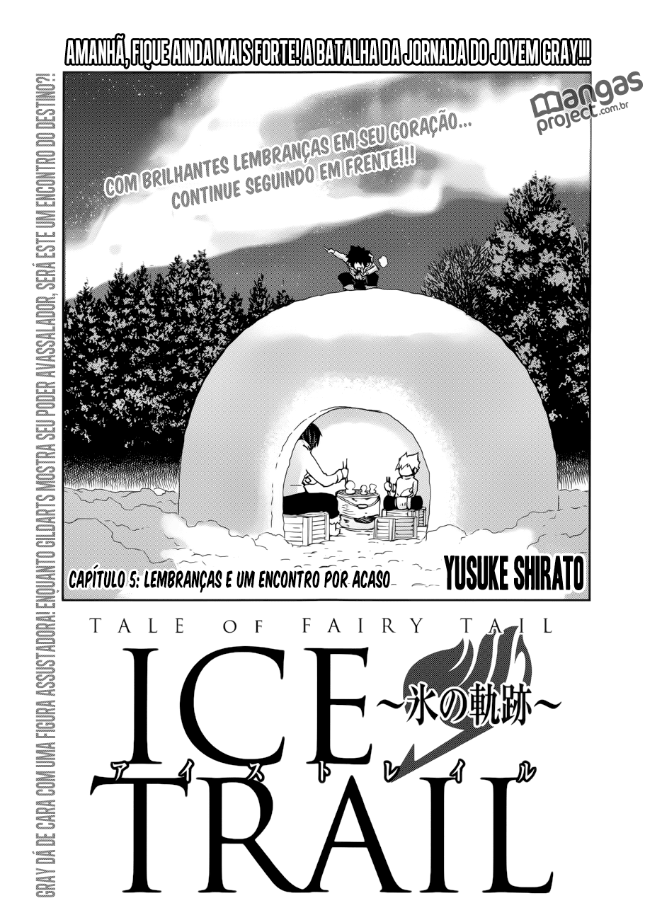 Fairy Tail Ice Trail 05 Mangá Português leitura online