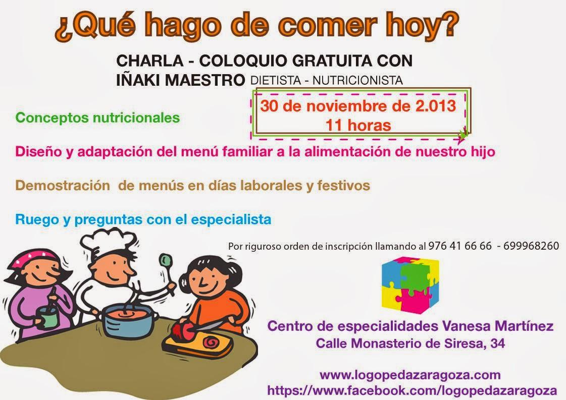 """AMPA """"EEI María Urrea"""": CHARLA NUTRICIÓN FAMILIAR - photo#48"""