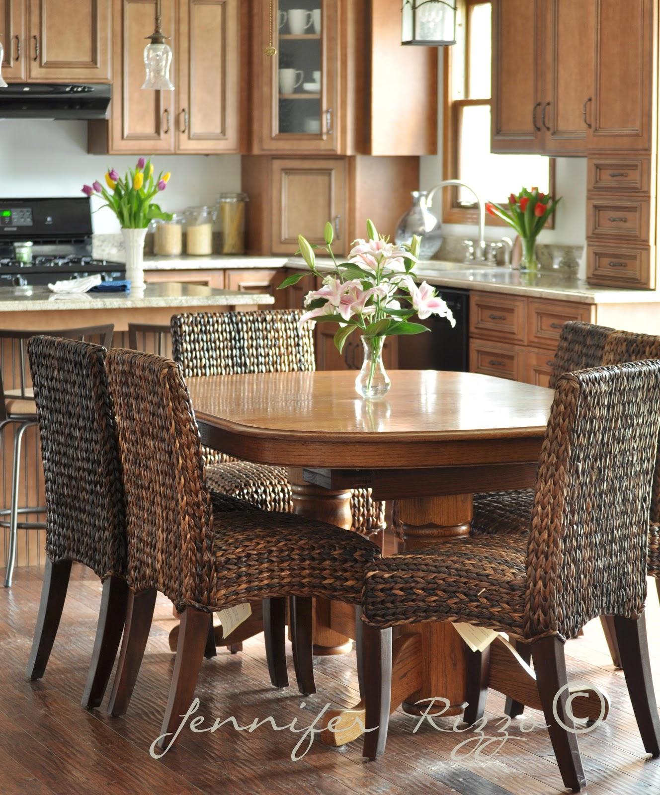 Rattan Kitchen Furniture My Moms New Kitchen Jennifer Rizzo