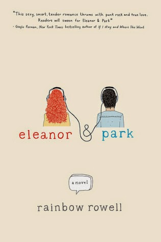 Eleanor & Park By Rainbow Rowell Cover Art
