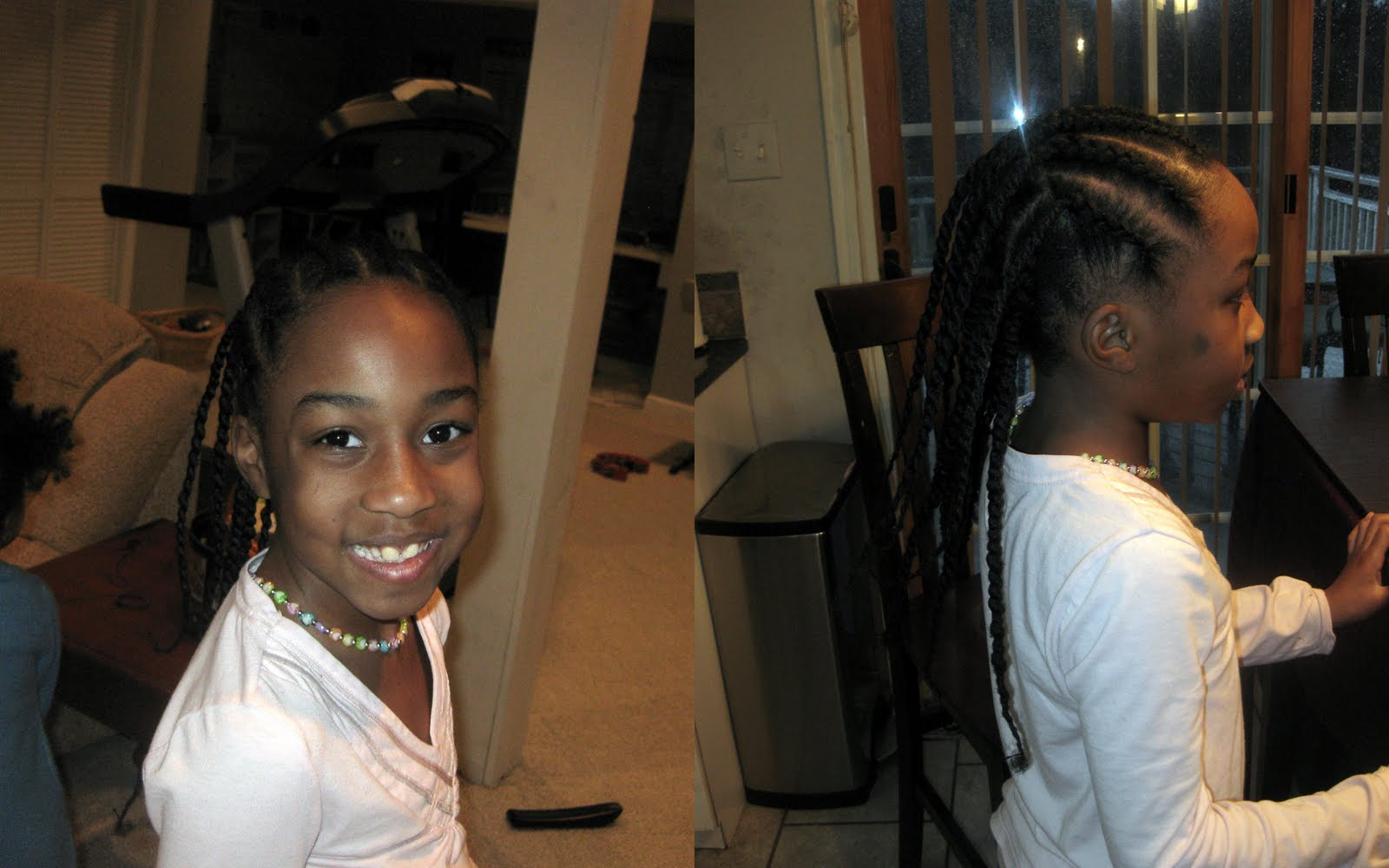 ... : Stretch Your Daughters Hair HEAT FREE with African Hair Threading