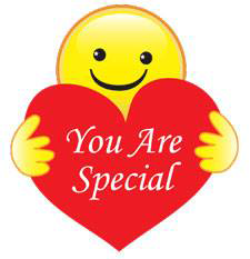 You are special smiley face