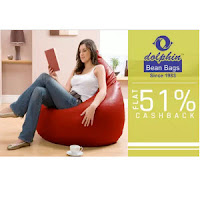 Buy Dolphin Bean Bags and covers Extra 51% Cashback  :buytoearn