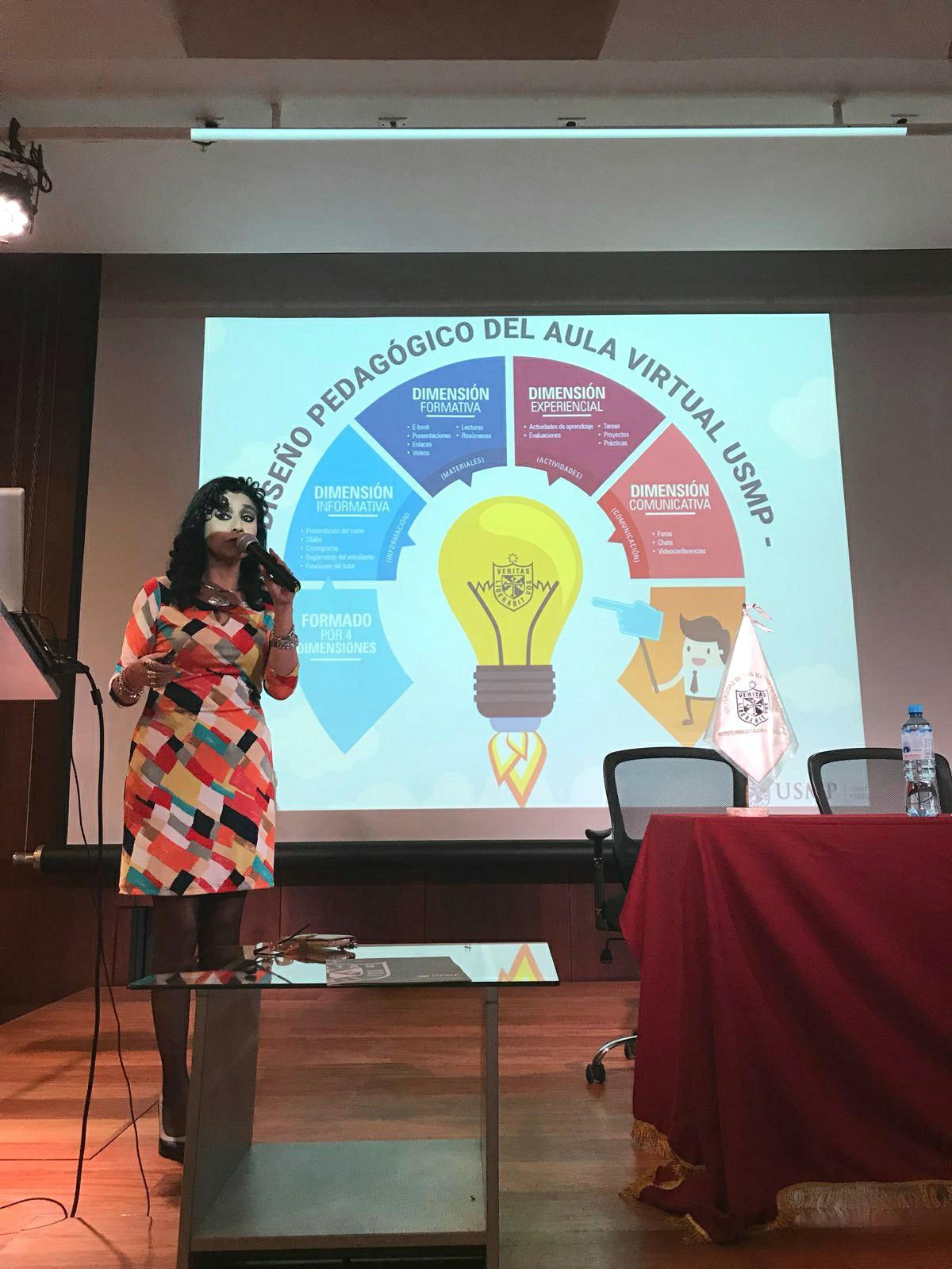 Conferencia en Perú USMP