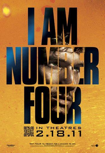 Il cinefilante: Io sono il numero quattro I Am Number Four Movie Poster