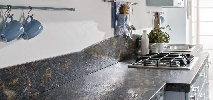 Arredo In: Cucina, piano di lavoro in marmo