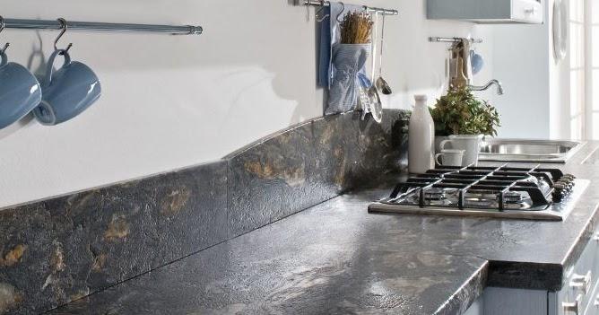 Arredo in cucina piano di lavoro in marmo - Piano di cucina ...