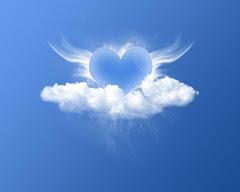Quando o amor é livre o coração pode pairar no ar.