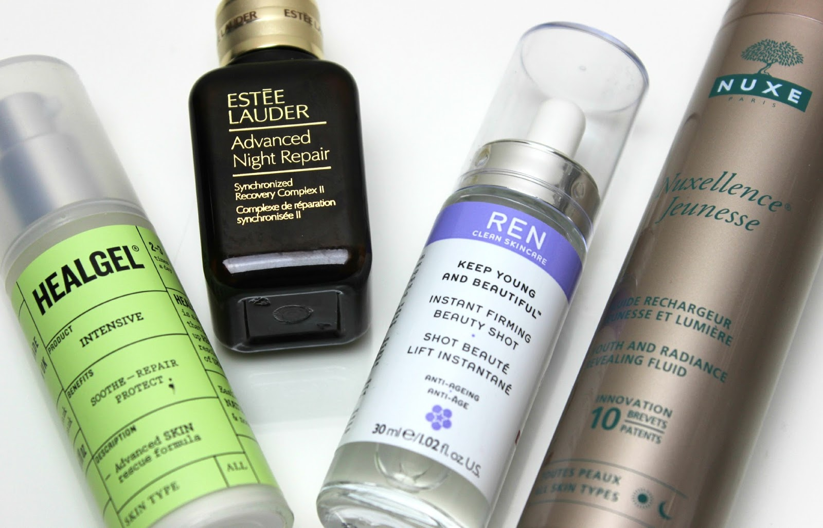A picture of serums for oily and combination skin