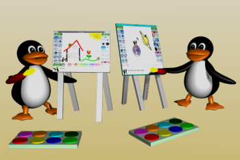 برنامج الرسم و التلوين للاطفال