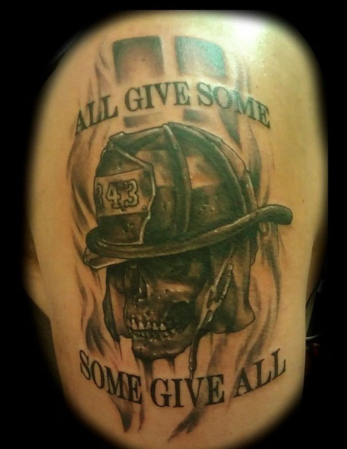 Firefighter Tattoos