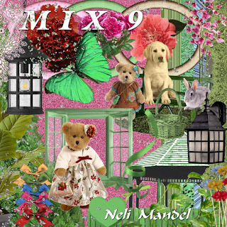 Free scrapbook elements mix-9 from Lugar Encantado da Neli